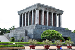 Ho Chi Minh Mausoleum  in Vietnam Stock Photography