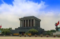 Ho Chi Minh Mausoleum in Vietnam. Stock Image