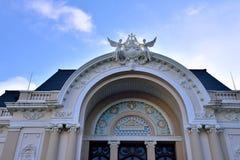 Ho Chi Minh Miasta Opera, Wietnam Zdjęcia Stock