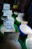 Ho chi minh miasta rynku ryż dla sprzedaży Fotografia Stock