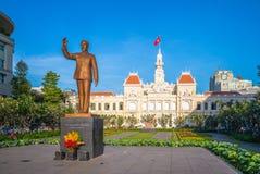 Ho Chi Minh miasta ` s Komitetowego Kierowniczego biura ludzie Obraz Royalty Free