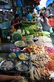 Ho chi minh miasta vegtables dla sprzedaży i owoc Obraz Royalty Free