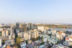 Ho Chi Minh miasta widok od wierzchołka budynek Obraz Royalty Free