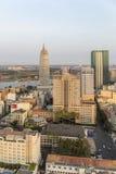 Ho Chi Minh miasto w świetle słonecznym Obrazy Royalty Free