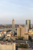 Ho Chi Minh miasto w świetle słonecznym Fotografia Royalty Free