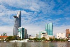 Ho Chi Minh miasto Wietnam Saigon Zdjęcia Stock