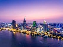 Ho Chi Minh miasto Wietnam Saigon Fotografia Stock