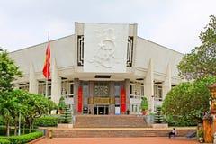 Ho Chi Minh Museum Hanoi Vietnam royaltyfri fotografi