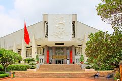 Ho Chi Minh Museum, Hanoi Vietnam Royalty Free Stock Photo