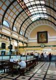 Ho chi Minh poczta centrum wnętrze Zdjęcie Stock