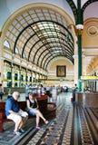 Ho chi Minh poczta centrum wnętrze Fotografia Stock