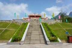 Ho Chi Minh pomnik Zdjęcia Royalty Free