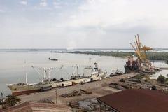 Ho Chi Minh port Stock Photos