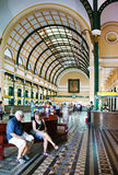 Ho chi Minh post center interior Stock Photography