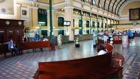 Ho chi Minh post center interior Stock Image