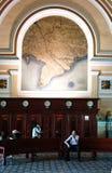 Ho chi Minh post center interior Royalty Free Stock Photography