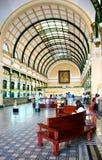 Ho chi Minh post center interior Stock Photos