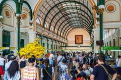 Ho Chi Minh Postal Office Fotografia Stock