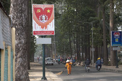 Ho Chi Minh poster Royalty Free Stock Photo