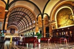 Ho Chi Minh-postkantoor royalty-vrije stock afbeeldingen