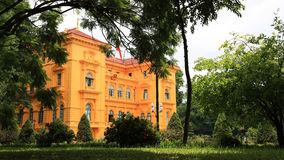 Ho Chi Minh, the Presidential Palace Royalty Free Stock Photo