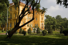 Ho Chi Minh, the Presidential Palace in Hanoi, Vie Stock Photos