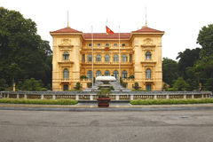 Ho Chi Minh, Presidential Palace in Hanoi, Vietnam Stock Image