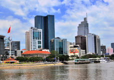 Ho Chi Minh skyline, Vietnam Stock Photos