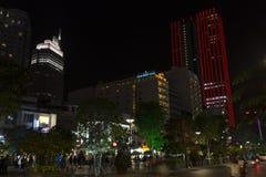 Ho chi Minh skyline Stock Photos