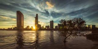 Ho-Chi-Minh-Stad royalty-vrije stock fotografie