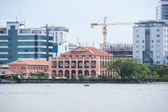 Ho Chi Minh stad royaltyfria bilder