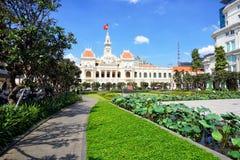 Ho Chi Minh stad Arkivbild