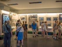 Ho Chi Minh-stad, Saigon, Zuid-Vietnam: [Ho Chi Minh-het de Restenmuseum van de stadsoorlog, herdenkt de oorlog van Vietnam] royalty-vrije stock afbeeldingen