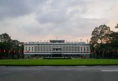 HO-CHI-MINH-STAD, VIETNAM - 03 NOV.: Mooi landschap van Indep royalty-vrije stock foto's