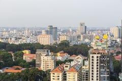 Ho Chi Minh-stadslandschap Royalty-vrije Stock Fotografie
