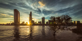 Ho Chi Minh Stadt Lizenzfreie Stockfotografie