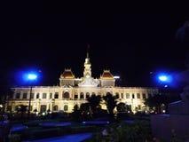 Ho Chi Minh Stadt Hall lizenzfreies stockfoto