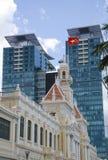 Ho Chi Minh Stadt Hall lizenzfreie stockbilder