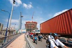 Ho Chi Minh Stadt, Vietnam Stockbilder