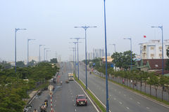 HO CHI MINH STADT, VIETNAM stockbild
