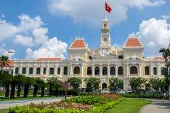 Ho- Chi Minh Stadtvölker-Ausschussgebäude Stockbilder