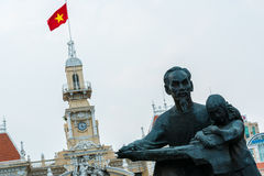 Ho Chi Minh Statue Stock Images