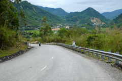 Ho Chi Minh trail, forest, mountain, terrain stock photos