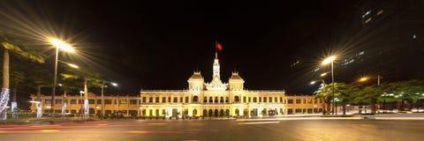 Ho Chi Minh urząd miasta, Wietnam Fotografia Royalty Free
