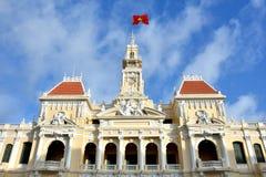 Ho Chi Minh urząd miasta, Wietnam, 2016 Fotografia Stock