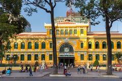 Ho Chi Minh urząd pocztowy Fotografia Royalty Free
