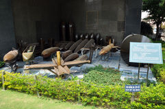 American Vietnamese War Remnants Museum, Ho Chi Minh city, Vietnam Royalty Free Stock Image