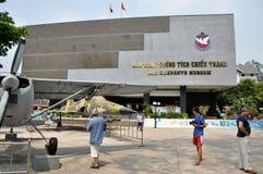 Het Amerikaanse Vietnamese Museum van de Resten van de Oorlog, Ho-Chi-Minh-Stad, Vietnam Royalty-vrije Stock Foto