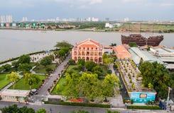 Ho Chi Minh Vietnam arkivfoton