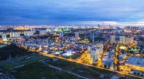 Ho Chi Minh Vietnam stockfoto